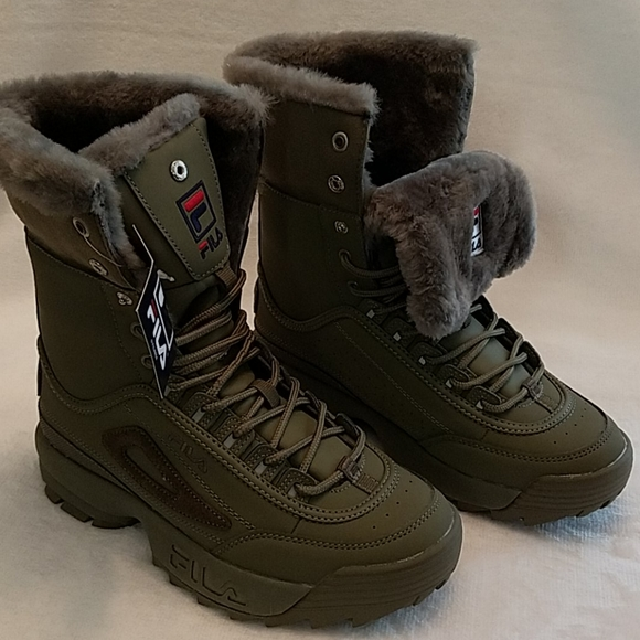 Fila Shoes   Wmns Size 8 Disruptor Boot